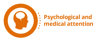 Psychological and medical attention