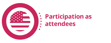 Participation as attendees